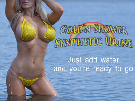 Gold'n Shower Synthetic Urine - Just Add Water
