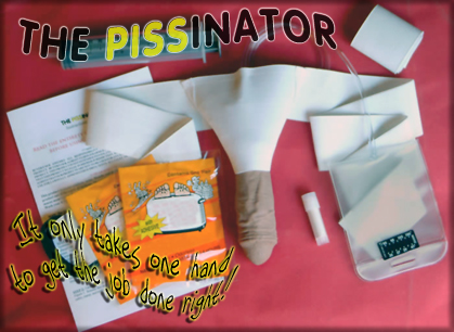 Contents of Complete Pissinator Kit